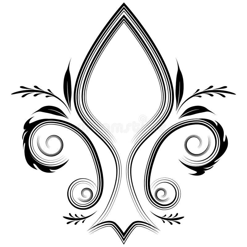 Fleur Flourish vector illustration