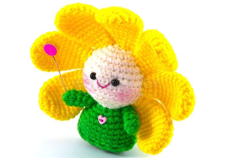 Fleur heureuse de bébé image libre de droits
