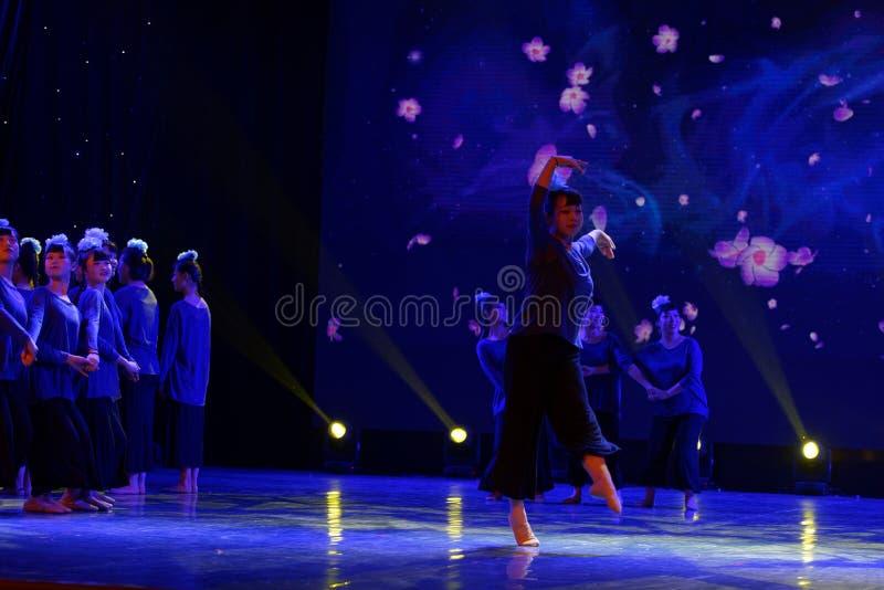 Fleur inconnue 1 - danse folklorique chinoise photos stock