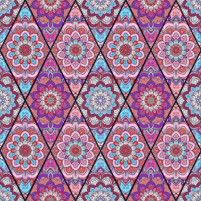 Download Fleur Mandala Tender De Modèle De Boho Illustration de Vecteur - Illustration du décoration, ornement: 76090522