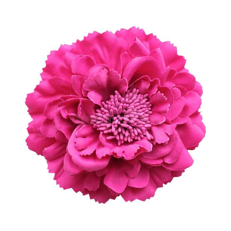 Fleur rose de tissu photos libres de droits