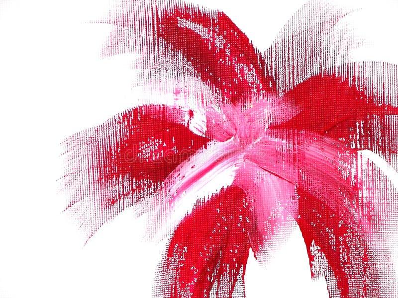 Fleur Rouge Géniale Photo stock
