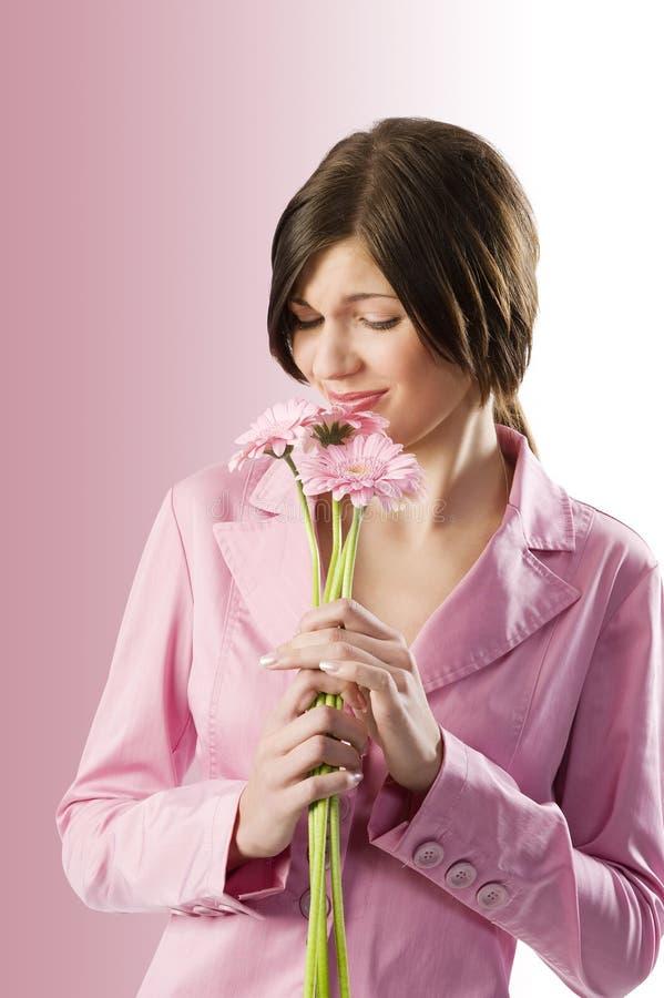 Fleur sentante photo libre de droits
