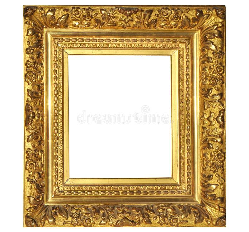Fleuri, vieux, art, image, frontière, photo, portrait, objet, cadre, découpé, fond, galerie, image, vide, d'isolement, deco, photo stock