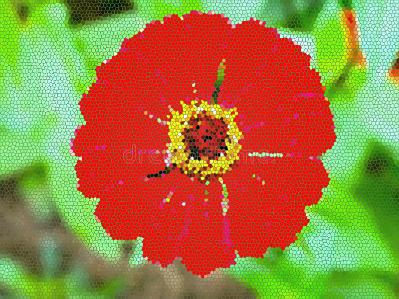 Fleurissez l'abstrait photos libres de droits