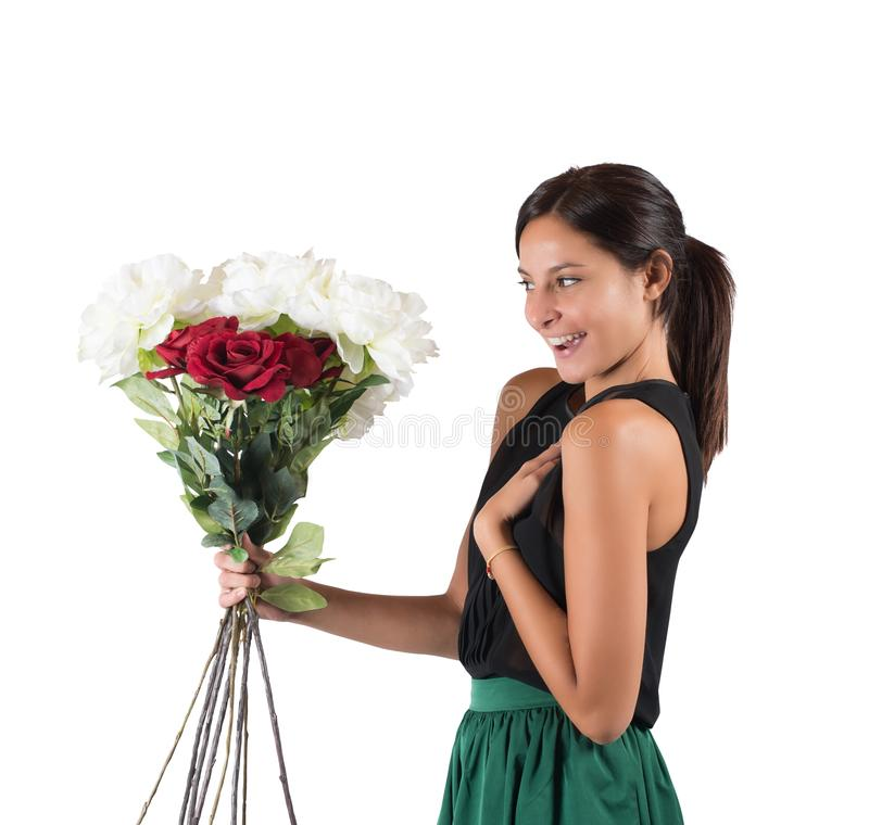 Fleurit inattendu photo libre de droits