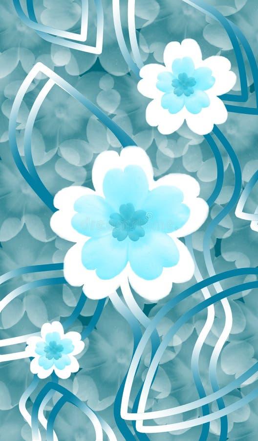 Fleurit l'image illustration de vecteur