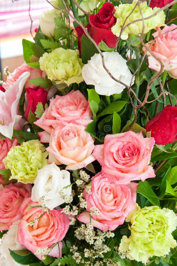 Fleurit le bouquet photographie stock