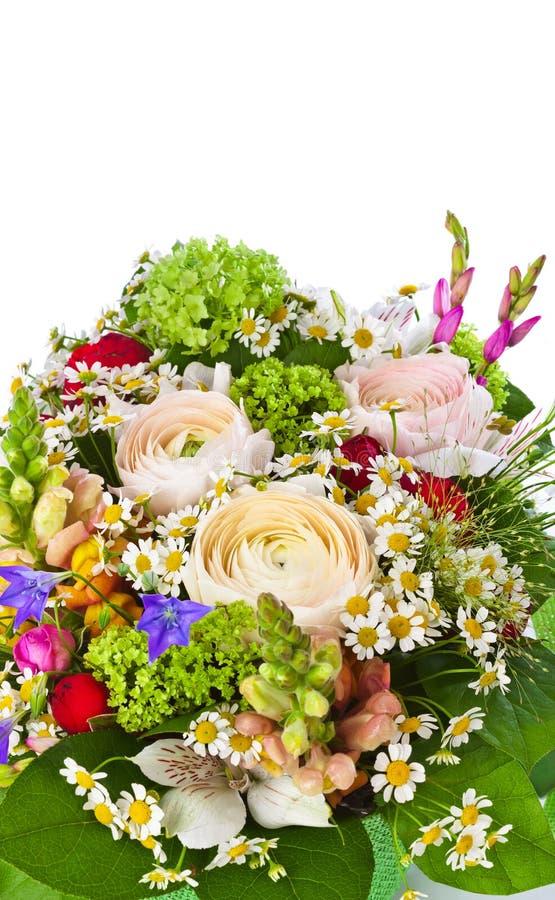 Fleurit le bouquet images libres de droits