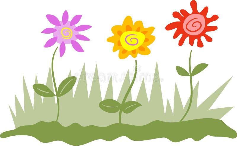 Fleurs illustration libre de droits