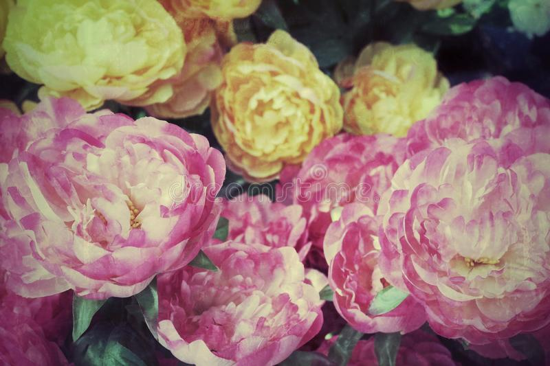 Fleurs artificielles photos stock