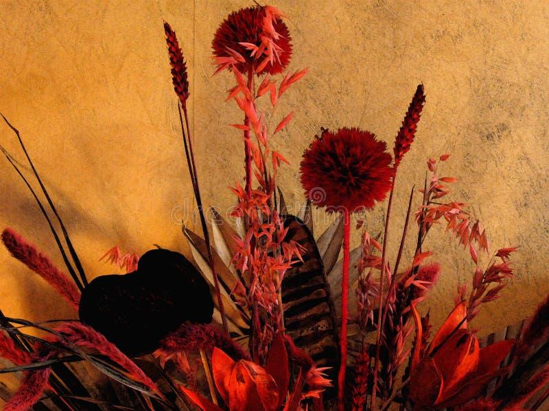 Fleurs d'Ikebana illustration stock