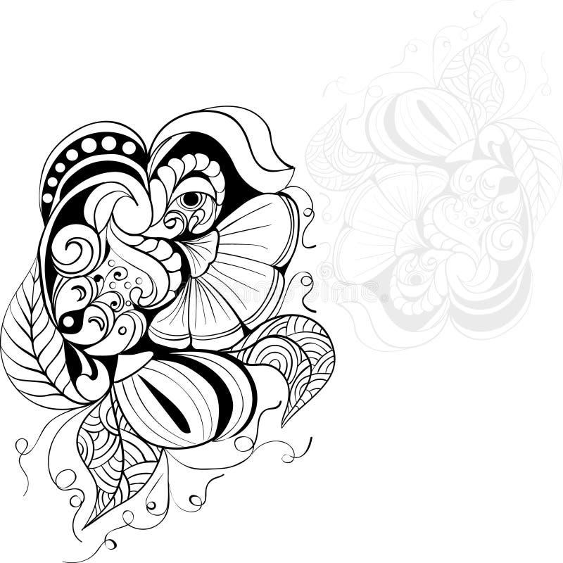 Fleurs d'imagination illustration libre de droits