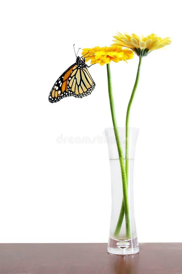 Fleurs dans le vase photo libre de droits