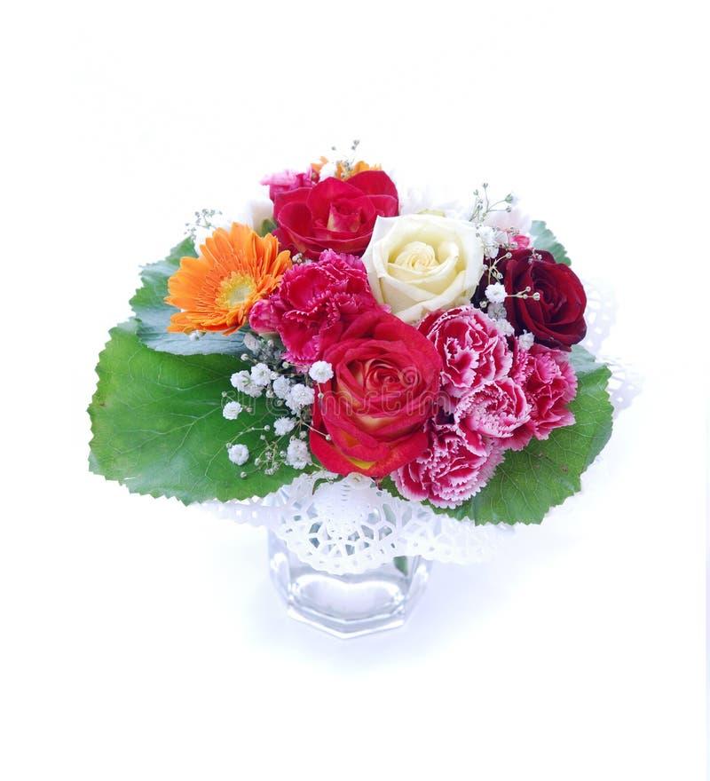 Fleurs dans un vase photographie stock libre de droits