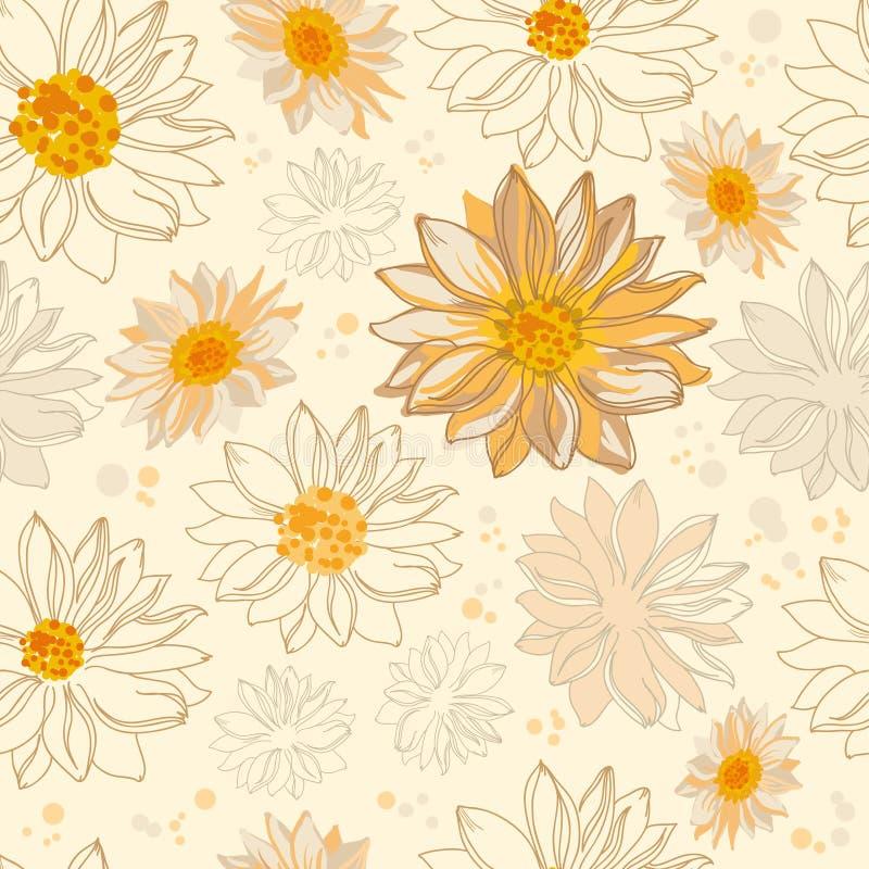 Fleurs de configuration illustration stock