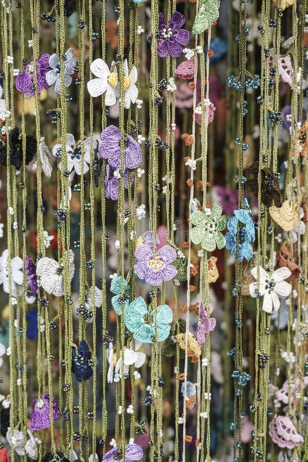 Fleurs de couture comme fond photo libre de droits
