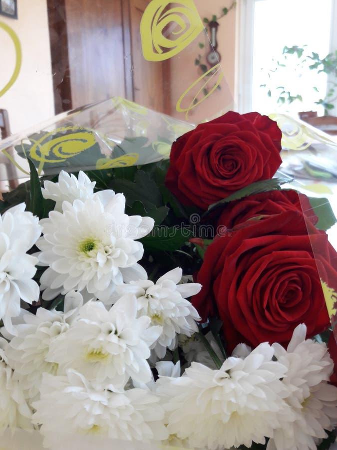 Fleurs de DES de bouquet image stock