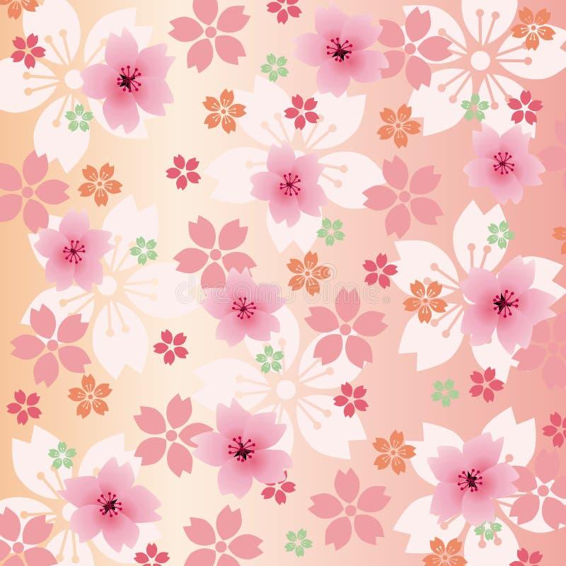 Fleurs de fond illustration de vecteur