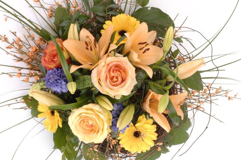 fleurs de groupe de bouquet photographie stock libre de droits