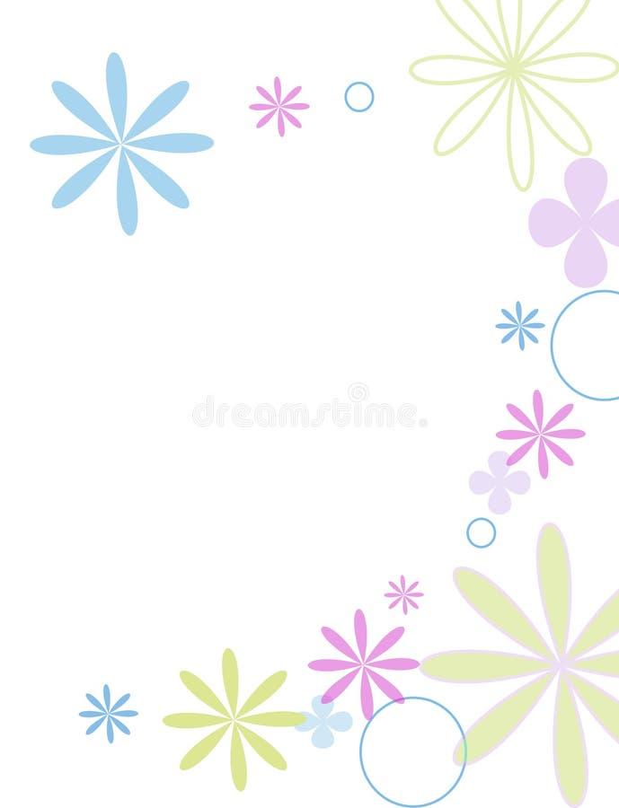 Fleurs de Jolie illustration de vecteur