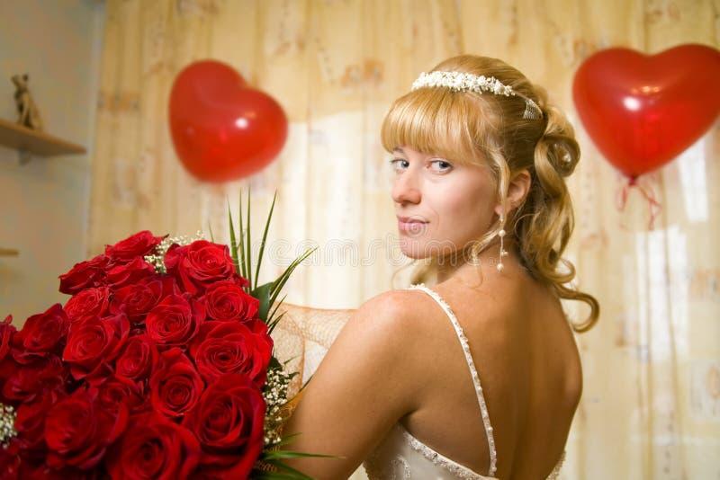 fleurs de mariée image libre de droits