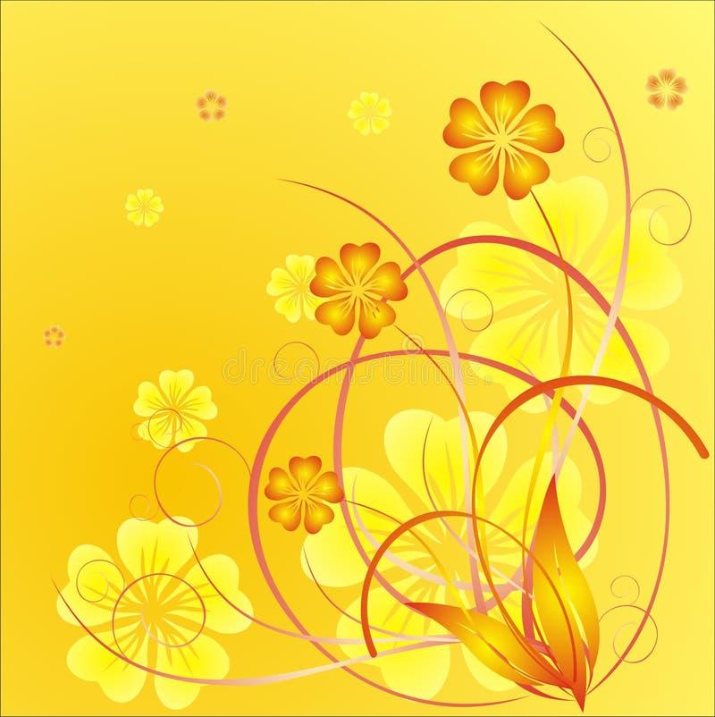 Fleurs de printemps illustration stock