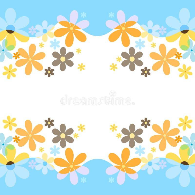 Fleurs de source illustration libre de droits