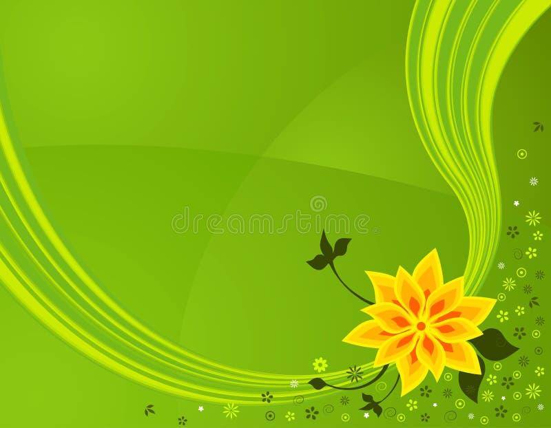 Fleurs de source illustration stock