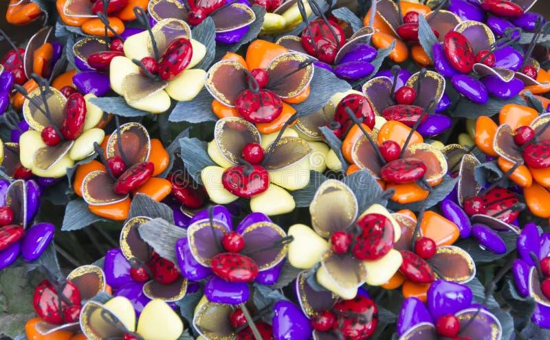 Fleurs de sucre photographie stock libre de droits
