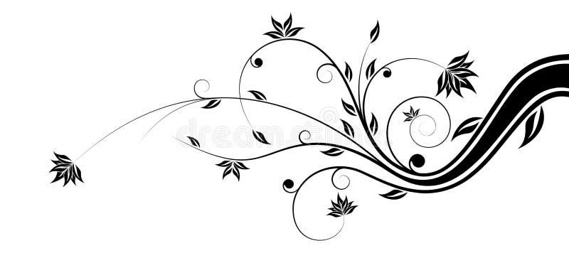 Fleurs de vecteur illustration libre de droits