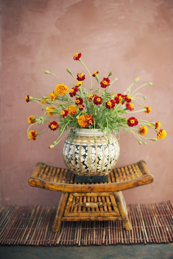 Fleurs de zen photographie stock libre de droits