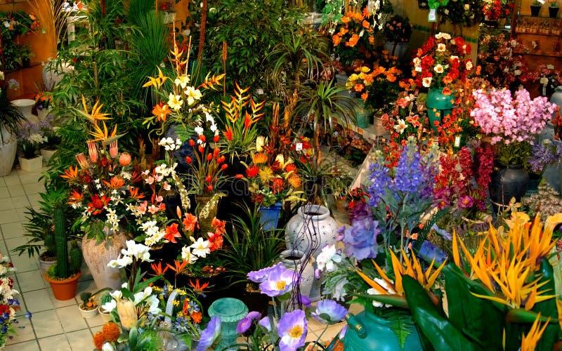 Fleurs en soie photos libres de droits