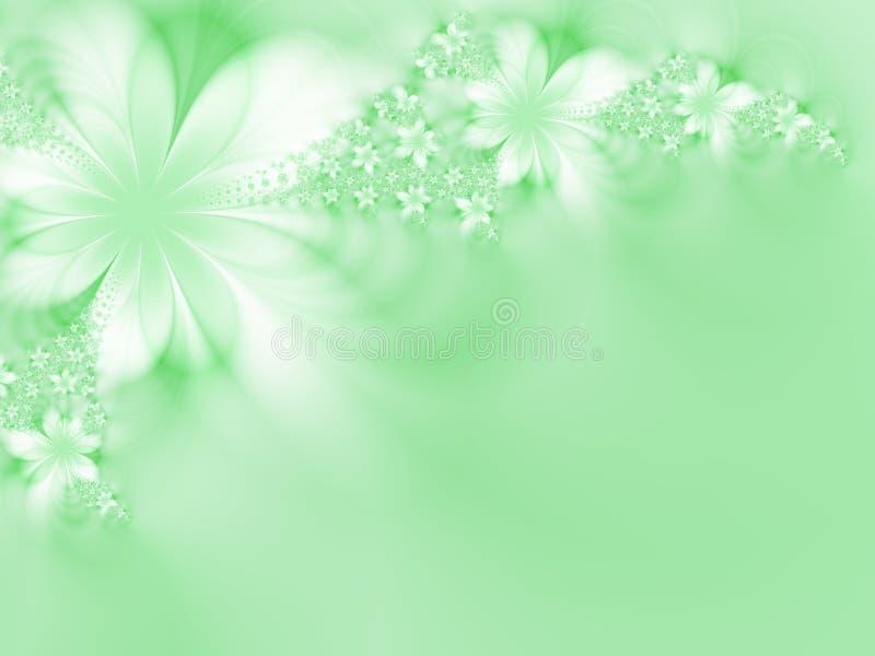 Fleurs idylliques illustration libre de droits