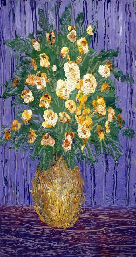 Fleurs lumineuses illustration stock