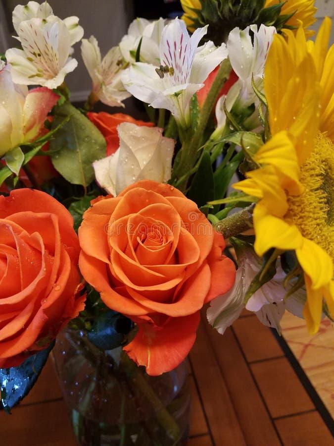 Fleurs mélangées photo libre de droits