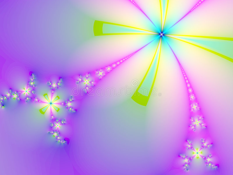 Fleurs merveilleuses illustration de vecteur