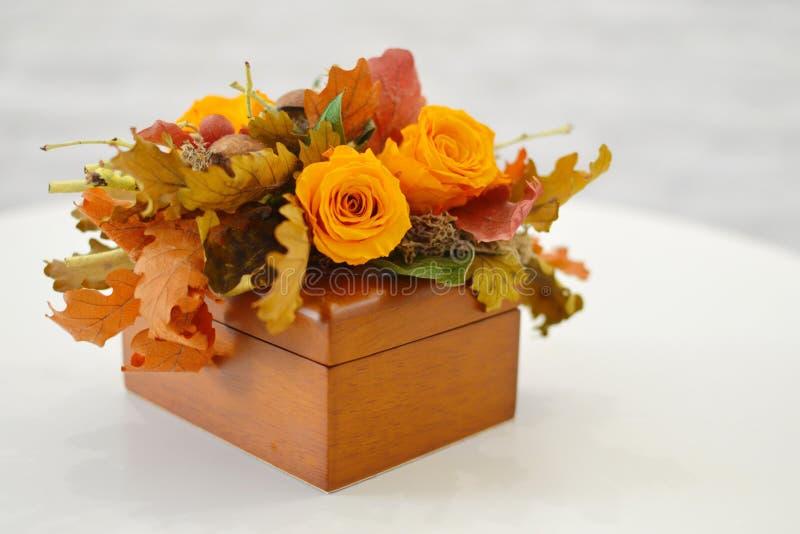 Fleurs sèches pour un décor intérieur photo libre de droits