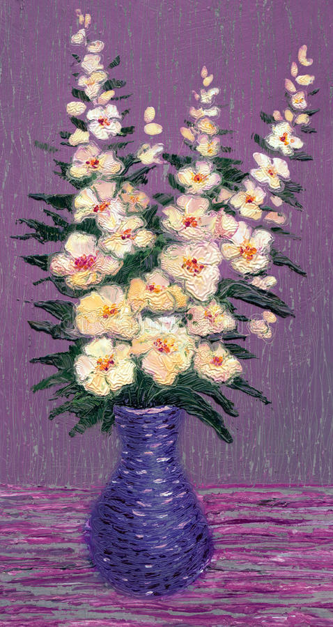 Fleurs sensibles illustration libre de droits