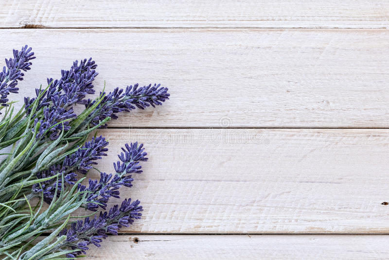 Fleurs sur le bois de cru photos libres de droits