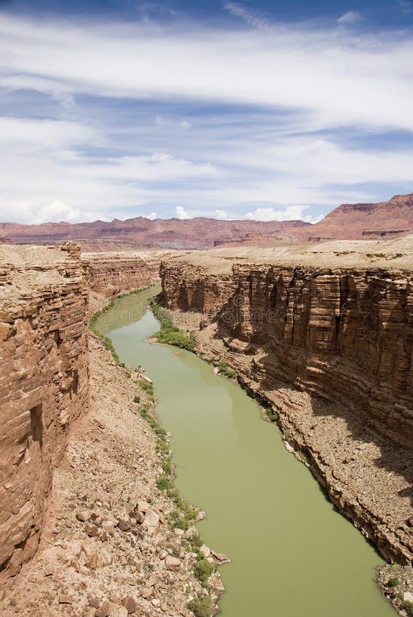 Fleuve Colorado photo stock