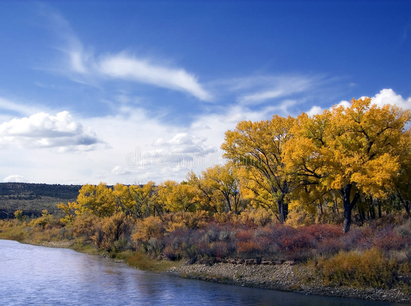 Fleuve Colorado photo libre de droits