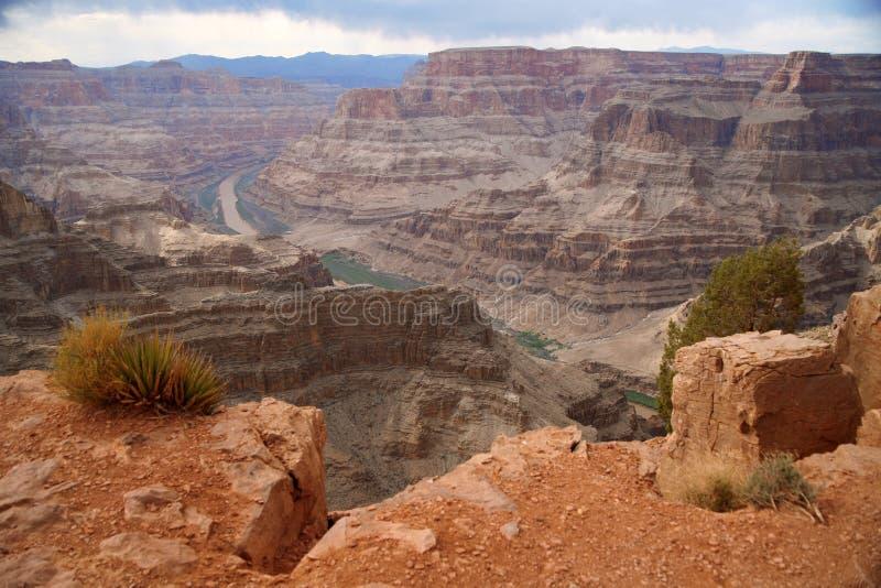 Fleuve Colorado de gorge grande et photos stock