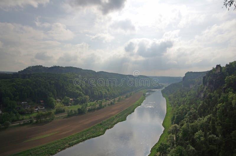 fleuve d'Elbe photos libres de droits