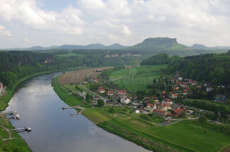 fleuve d'Elbe photographie stock