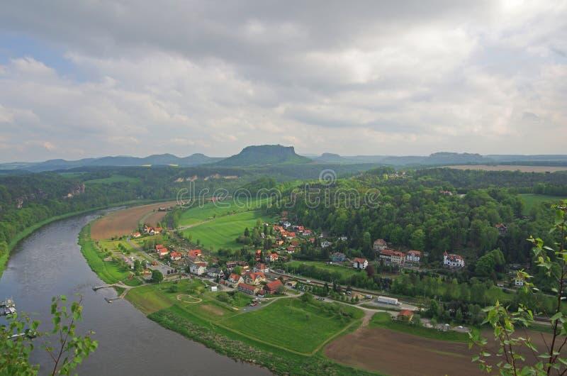 fleuve d'Elbe images libres de droits
