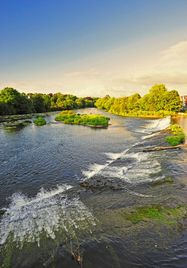 fleuve de blackwater image libre de droits