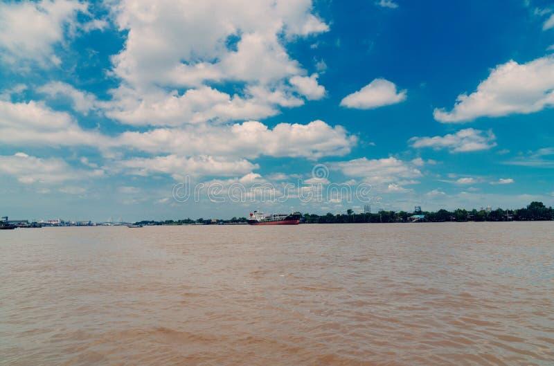 Fleuve de Chao Phraya photos libres de droits