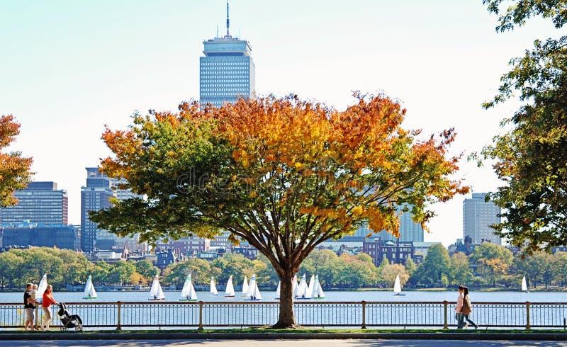 Download Fleuve de Charles Boston image stock. Image du boston - 87700819