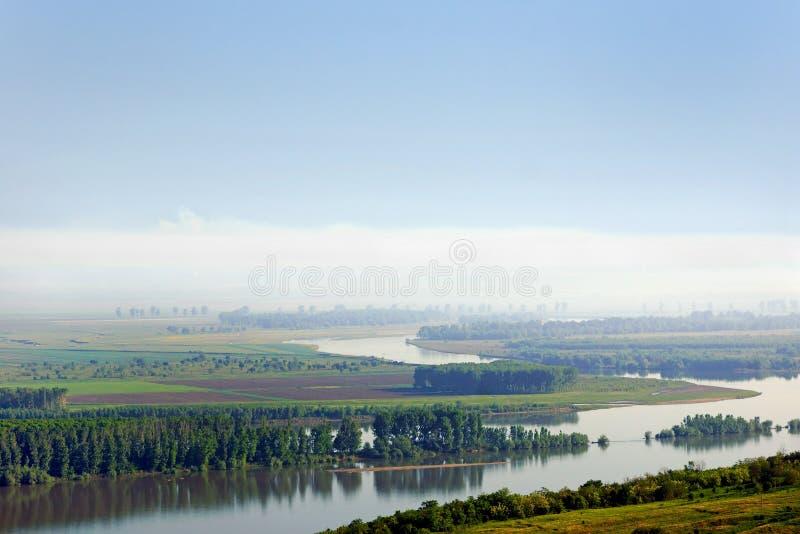Fleuve de Danube photo libre de droits